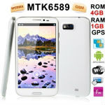 Wholesale price for Android 4.1.2 Version, CPU Chip: MTK6589, Cortex A7 1.2GHz; GPU: PowerVR SGX 544MP Quad Core, ROM: 4GB , RAM