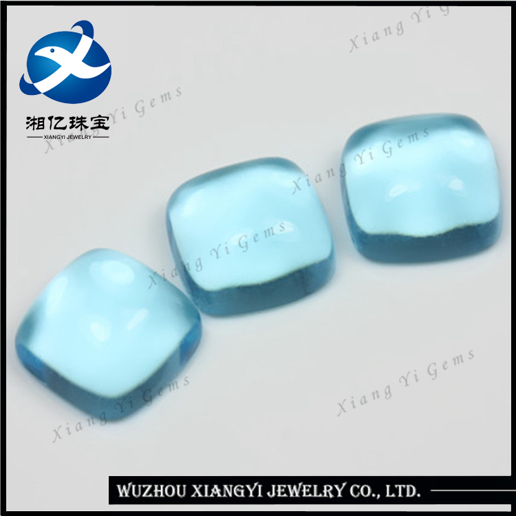 Popular Japan Iridescent Glass Beads.Good Quality Grade aaa Cabochon Synthetic Flat Back Glass Beads