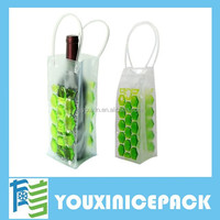 Wine Bottle Cooler Chiller Bag Gel Carrier Ice Chilling Cooling
