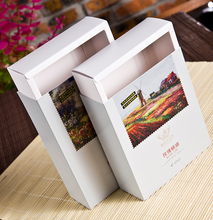 Pull-out Foldable White Paper Cosmetic Essential Oil Box, Paper Olive Oil Drawer Box