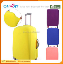 Hot selling spandex travel bag cover for luggage manufacturer custom
