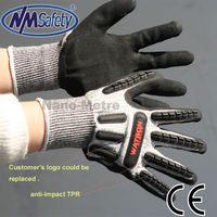 NMSAFETY puncture proof glove anti impact mechanic gloves