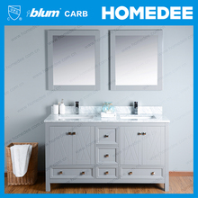 modern irregular shape bathroom vanity design
