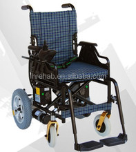 CE APPROVAL ALUMINIUM LIGHTWEIGHT ULTRA LIGHT FOLDING POWER WHEELCHAIR FHPW-04A