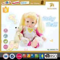 2015 New product little kids love doll child size citi toy doll with bear