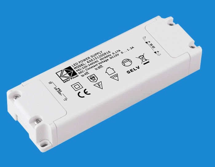 12V AC/DC Constant Voltage LED Driver with CE TUV