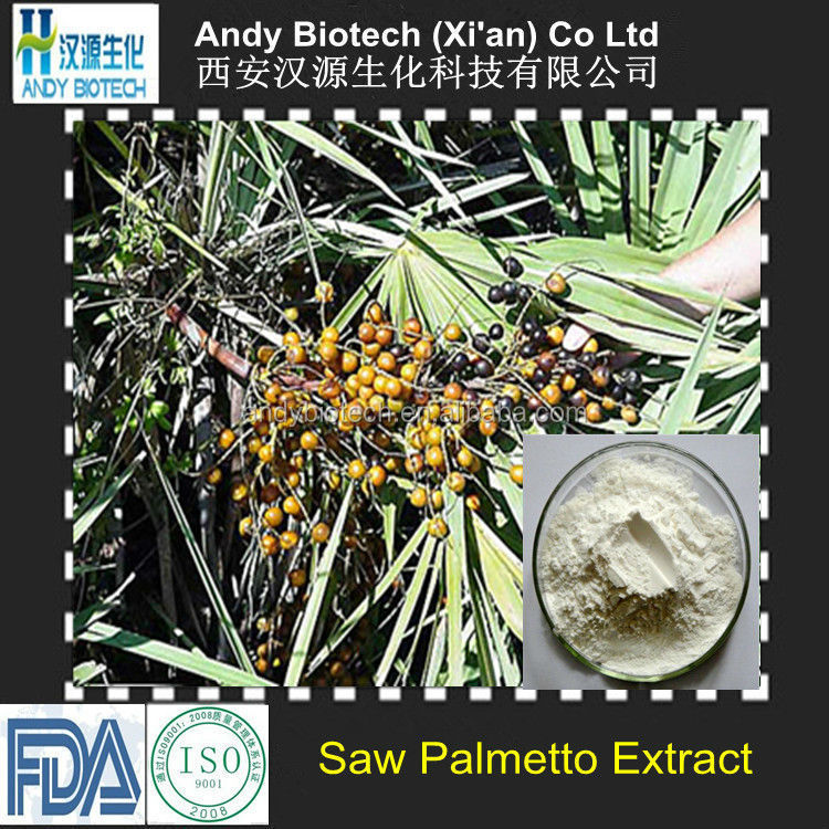 100% Natural Fatty acids 25% Saw Palmetto Extract