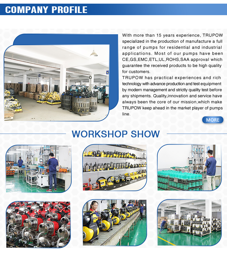 Basic Model Automatic Booster System High Pressure Pump Station