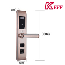 Different Models of china latest style password intelligent fingerprint combination lock for inn