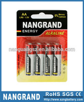 Environmental 1.5v aa not rechargeable battery