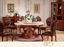 Antique hand carved royal style furniture European dining room sets