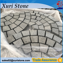precut paving granite paver