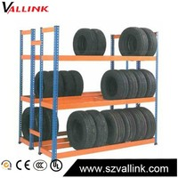 Professional Manufacturer Warehouse Storage Tire Display Rack
