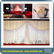 Clear & Red wedding curtain,Square & Oval Sparkle DIY Glass theatre backdrop for parties,Curtain Wedding Backdrop