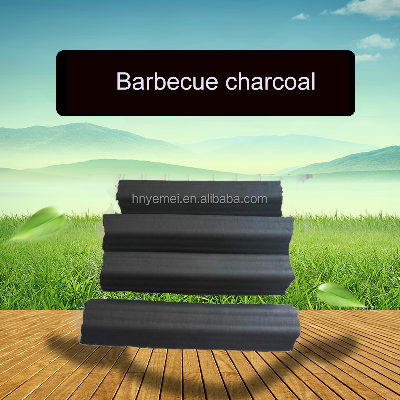 BBQ Hardwood Charcoal / Hexagon and Square Shapped Charcoal Briquette