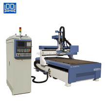 cnc router cabinet door making panel furniture machine with ATC