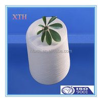 high tenacity 42/2 semi-dull spun polyester yarn for sewing thread on plastic cone