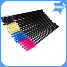 Makeup Tool 50Pcs Disposable Eyelash Makeup Brushes Cosmetic Mascara Brush Wands Applicator