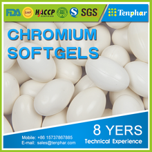 High Quality Healthcare Product Chromium Picolinate Supplement Softgels