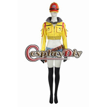 Final Fantasy XV Cindy Aurum Costume Suit Uniform Adult Women's Halloween Carnival Cosplay Costume