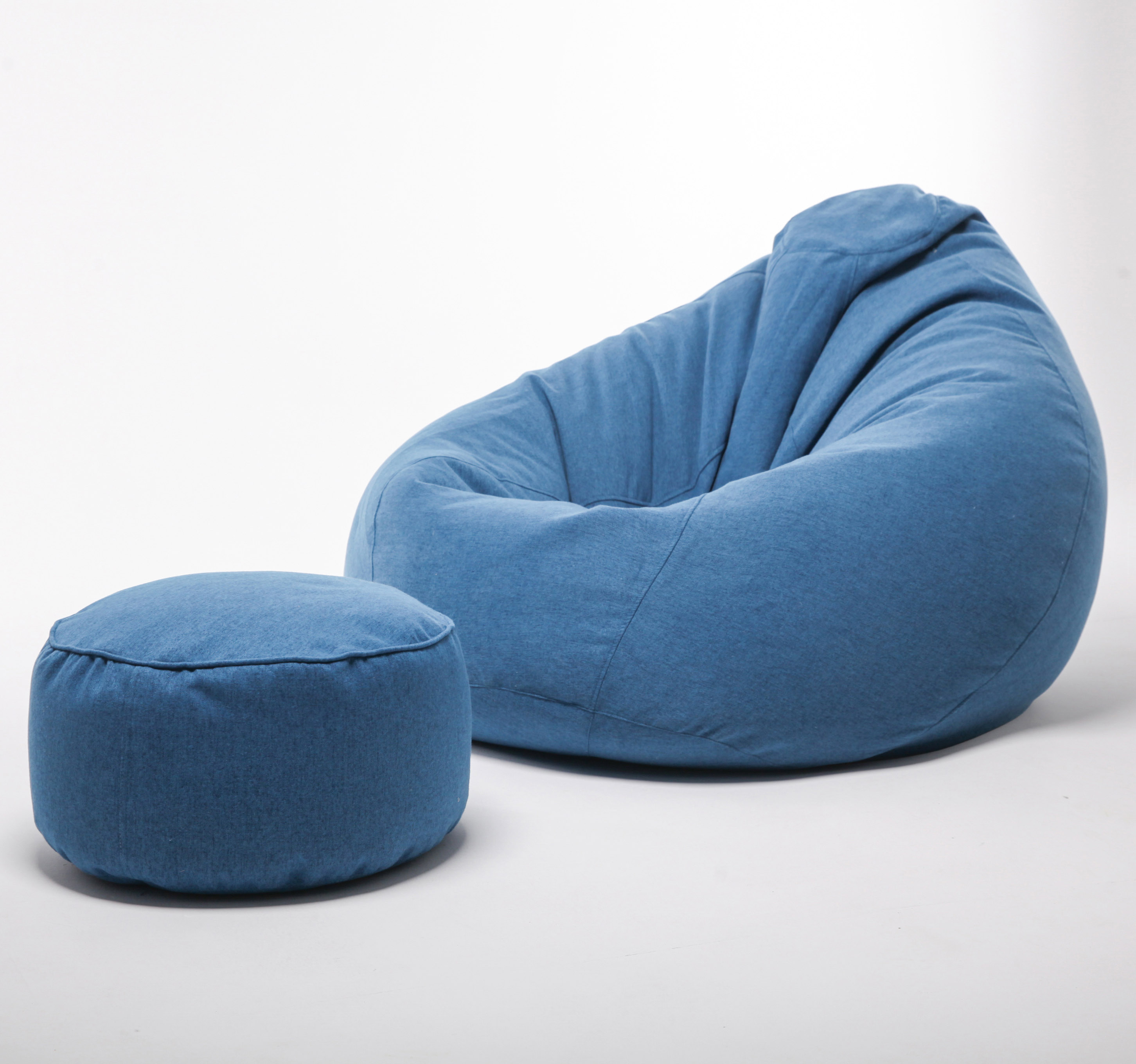 Cheap customized wholesale blue lazy boy outdoor indoor without filling oversized lounge large size foam xxl bean bag chairs