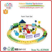 Early Education Farm Train Set - Baby Toys
