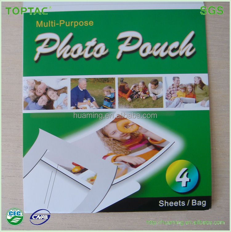 Special Designed Self-Adhesive Inkjet Photo Sticker Paper