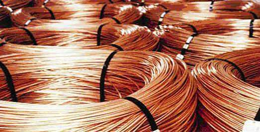 8.0mm Copper Rods for Copper Wire Manufacturing