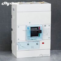 Wenzhou factory professtional manufacture mccb three pole 3p 1250a moulded case circuit breaker