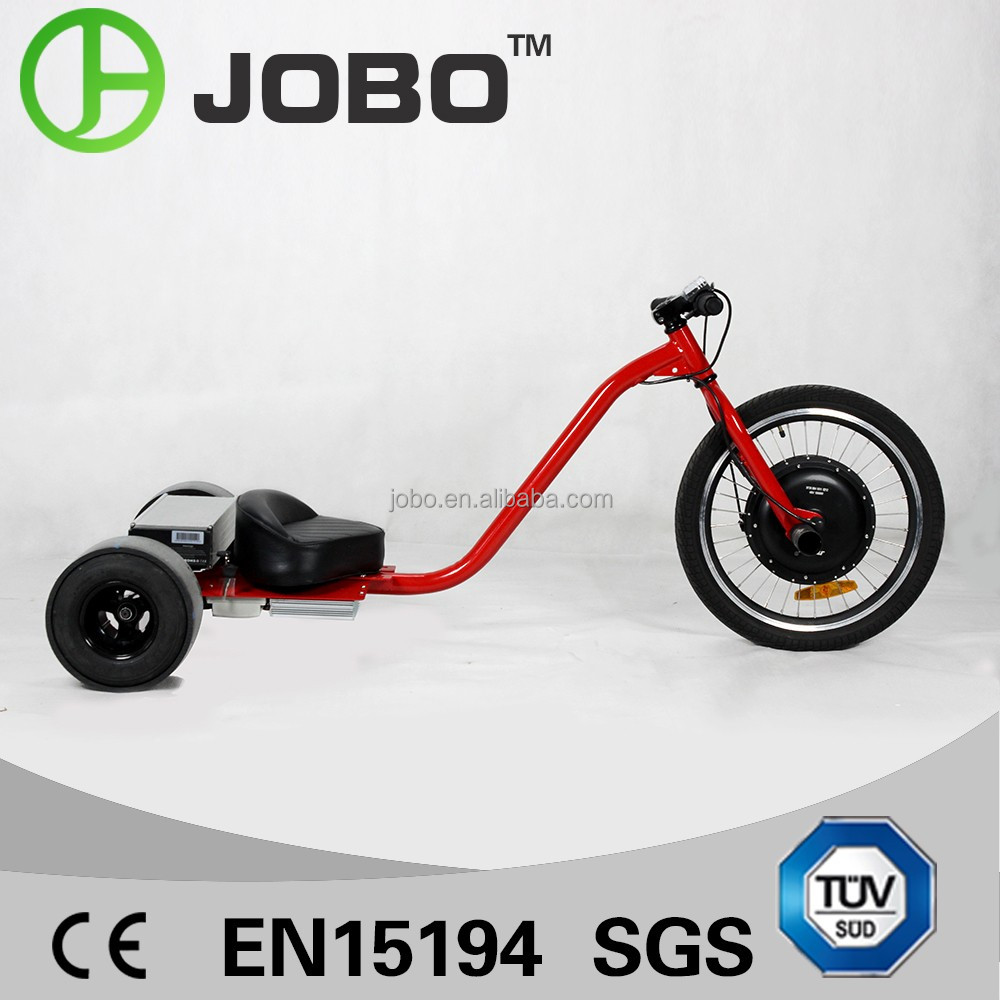 Amazing Super Power 1KW Motorized Electric Tricycle Drift Trike for Adult