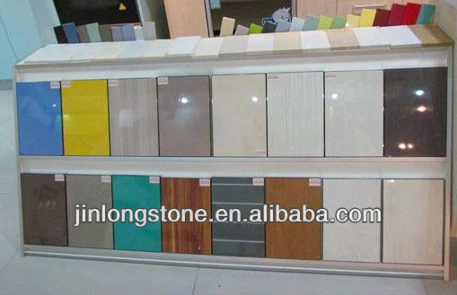 Absolute Yellow Quartz Stone Countertop Solid Surface