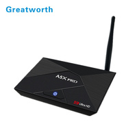 2017 new design products Android Tv Box A5X Pro With Best Quality And Low Price Wifi Dongle For Set Top Box