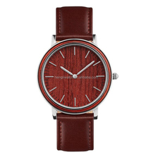 High-quality bamboo watch case waterproof Stainless Steel fashion wood watch 180831