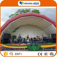 China factory custom made inflatable tents and marquees pvc inflatable tent/marquee with a pool