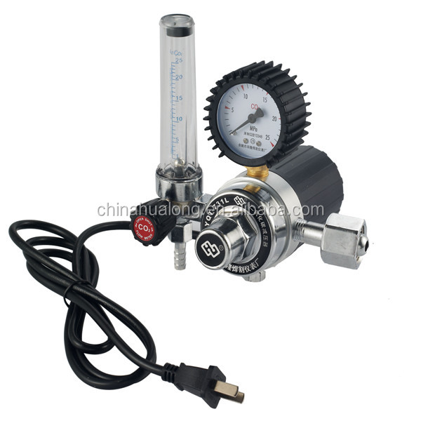 Electric Heating CO2 Gas Regulator (YQT-731L)