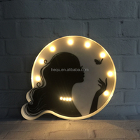 Battery Operated Wall Art Decor Lighted Led Sign