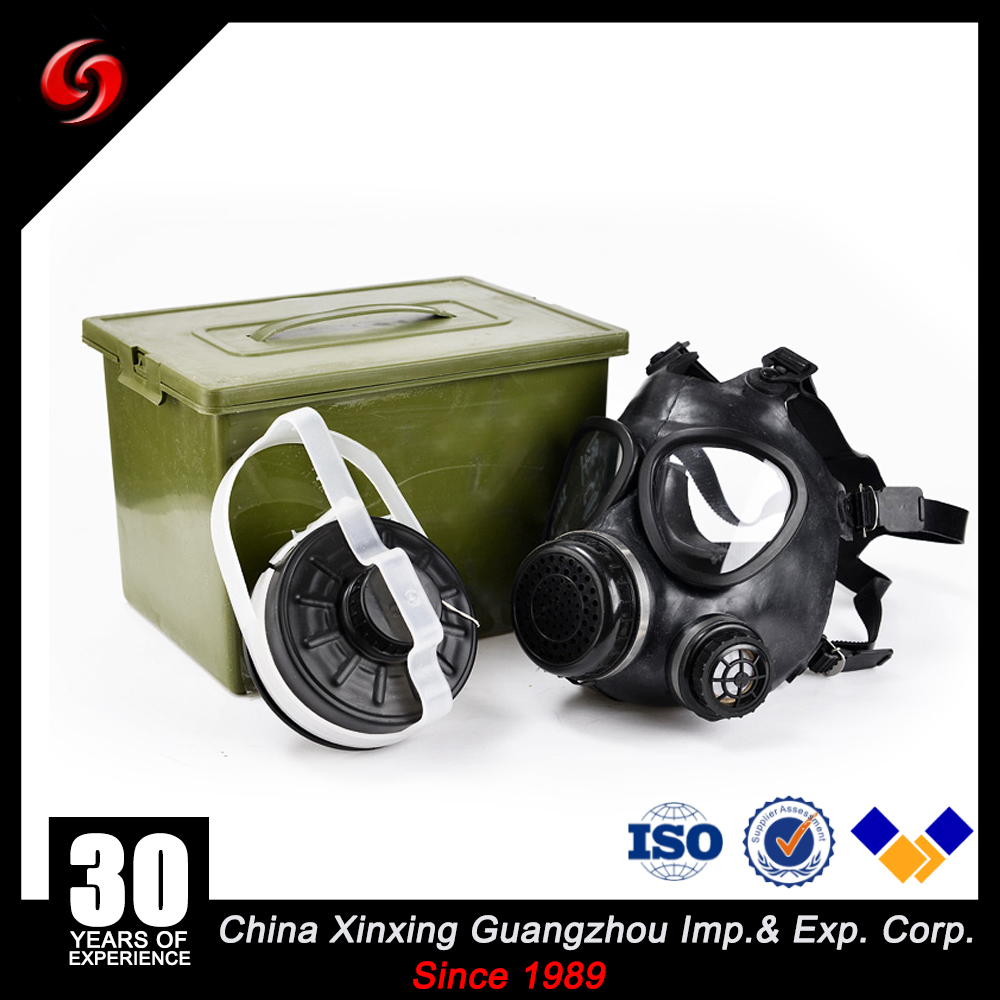 Military tactical full face anti gas mask for army lab fire gas mask
