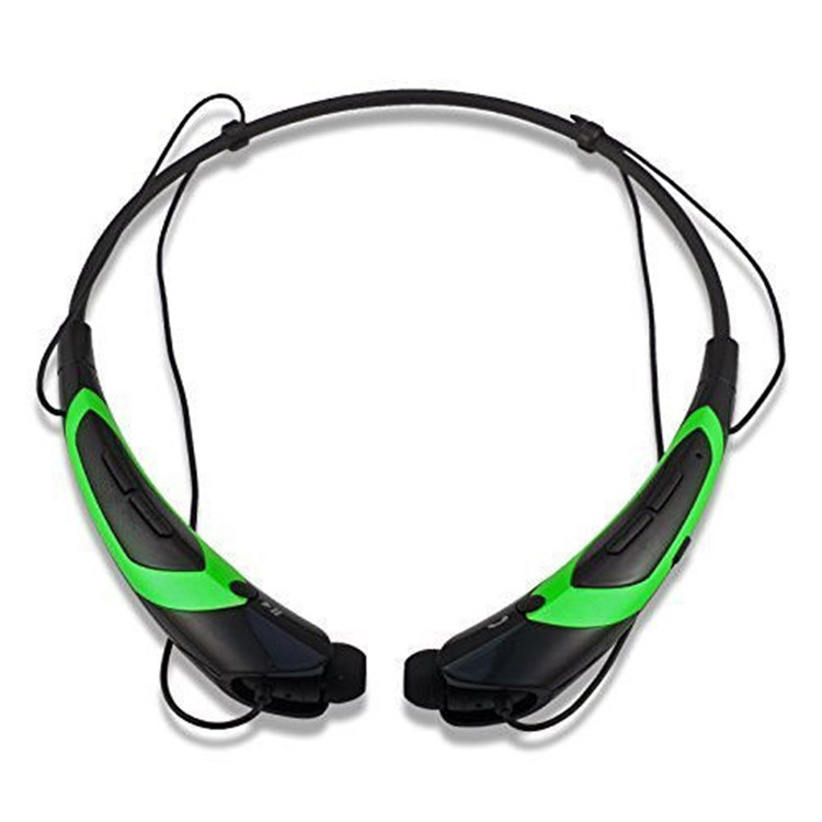 bluetooth 4.1 headset, flexible magnetic Wireless Bluetooth neckband headphone, stereo sport bluetooth headset for iphone