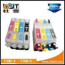 2015 refilled ink cartridge for Epson Stylus SX130 with chips