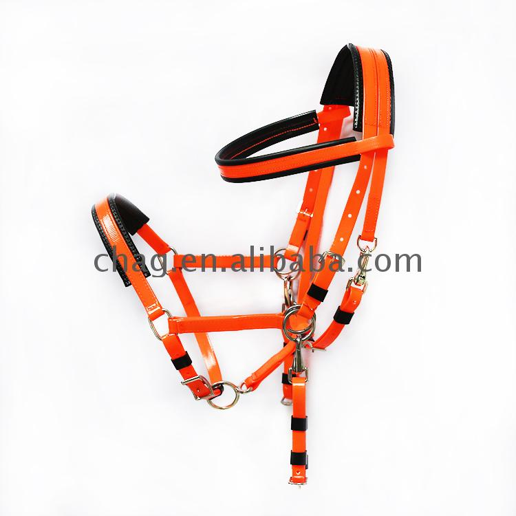 New arrival horse bridle endurance racing halter highly tear resistant high quality pvc equipment