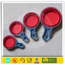 Food grade collapsible measuring cups factory