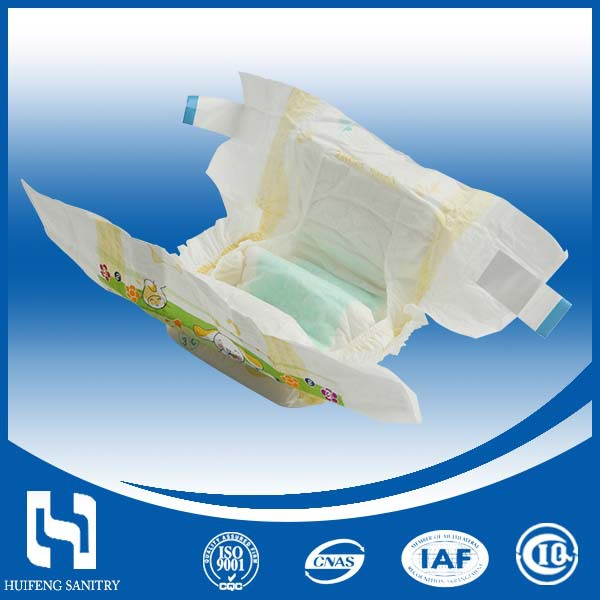 Super absorbency sweet sleepy wholesale service baby cotton diaper baby Nappies from China Factory