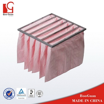 Economic OEM bag filter hot melt pocket filter
