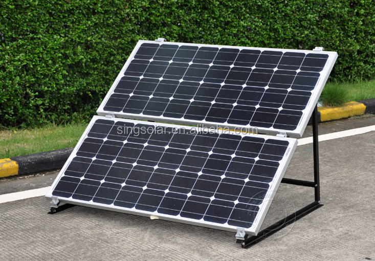 100w pv monocrystalline solar module shipped to asia with certificates