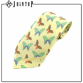 Wholesale Professional Manufacturer Digital Print Butterfly Tie