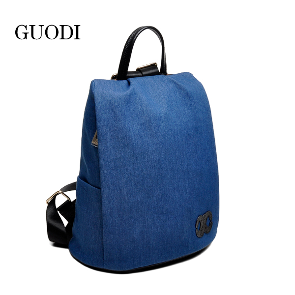 Fashion ladies canvas backpack bags factories in guangzhou