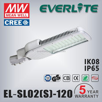 high power CE ROHS approved LED lamp 120w street lights