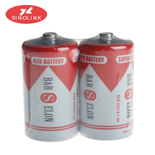 Primary & Dry Batteries 1.5V R20P D size dry cell battery 0%Hg um-1 super heavy duty battery