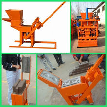 Easy operating hand pressed coal ash brick making machine with best price