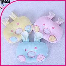 Infant pillow shape anti-migraine baby rabbit shape pillow